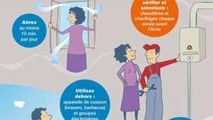 Campagne de prévention sur les risques d'intoxication au monoxyde de carbone