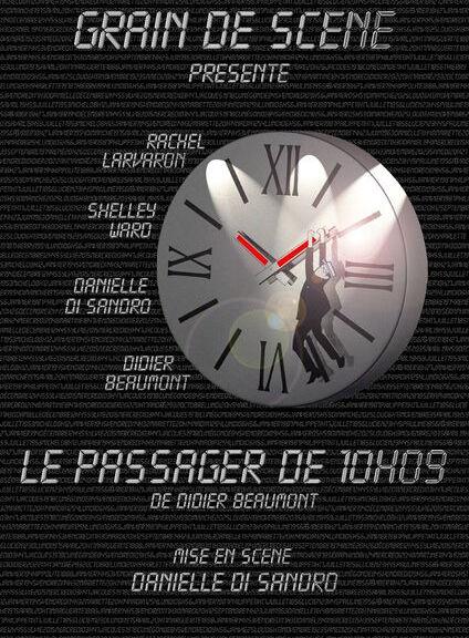 Eté théâtral à Opio «Les mardis à l'amphi» LE PASSAGER DE 10h09