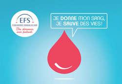 Dates de collecte de sang pour l'année 2019