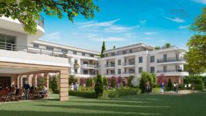 La Résidence Seniors se concrétise route de Cannes
