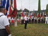 Cérémonie de commémoration de la Libération d'Opio.