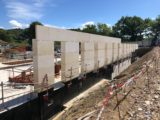 La construction du Groupe Scolaire a repris