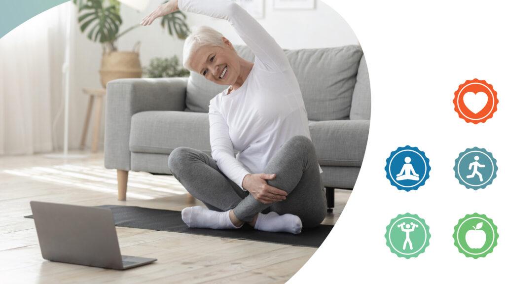 Sport et Santé à distance : Des ateliers en visio gratuits pour les seniors