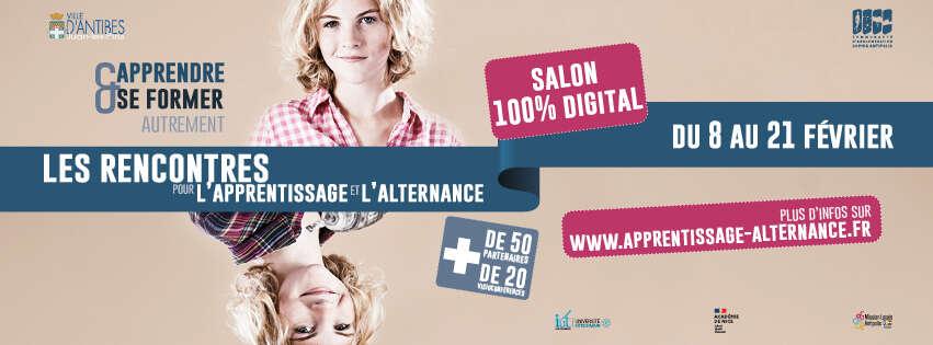 Rencontres pour l'alternance et l'apprentissage – 100% digital